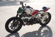 Roland Sands Ducati Desmosedici RR Tracker build - via The Bike Shed