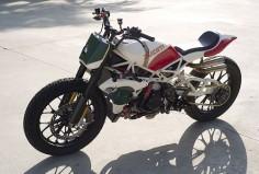 Roland Sands Ducati Desmosedici RR Tracker build - via The Bike Shed