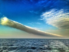roll cloud which is a rare arcus cloud
