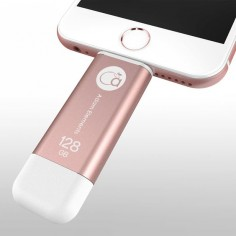 RoseGold iKlips, iPhone flash drive! Apple Lighting USB