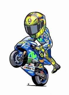 Rossi cartoon