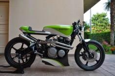 """rscrambler: """" Kawasaki Z550F by Manuele Spadoni """""""