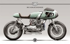 RUA*8 Moto Guzzi Nevada 750 — ruamachines
