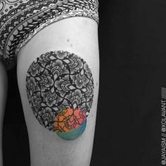 Sacred Geometry – Les magnifiques tatouages de Jaya Suartika