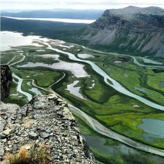 Sarek National Park - Sweden.