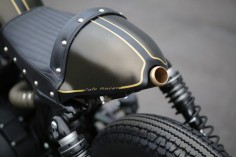 Say hello to Tony Montana - Harley 883 Cafe Racer ~ Return of the Cafe Racers