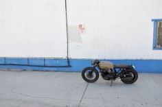 Seaweed's custom CB750 built by Brady Young