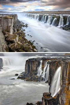 Selfoss+waterfall+in+Iceland!+One+of+the+things+that+makes+this+waterfall+so+spectacular+is+that+it+is+not+just+a+single+waterfall,+but+a+series+of+small+waterfalls.+Click+through+to+see+15+of+Iceland's+BEST+waterfalls.+