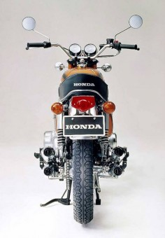 September 1970: Honda CB750 Fore