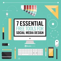 Seven essential design tools for social media.