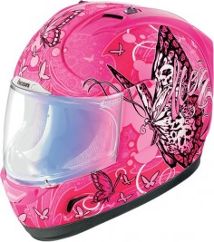Shop for Icon Alliance Chrysalis Full Face Motorcycle Helmet - Pink at  You'll find great prices, free shipping, and excellent customer service.