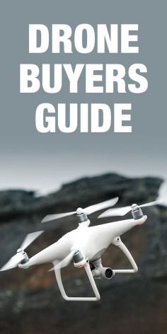 Shopping for a drone? Check out this buyer's guide for the best drones of 2016.