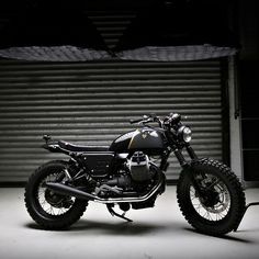 Should Moto Guzzi build a V7 Scrambler to compete with Triumph's version? We say yes.