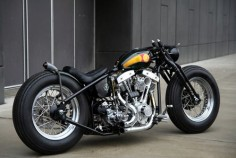 Shovelhead bobber | Bobber Inspiration - Bobbers and Custom Motorcycles | diy712 September 2013