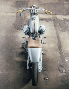 Silver Knight winner Lord of the Bikes - Moto Guzzi #custommotorcycles #motoscustom |