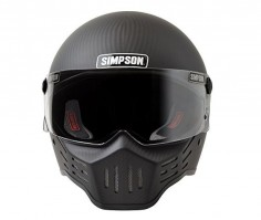 Simpson M30 Bandit DOT Satin Carbon Fiber Motorcycle Helmet