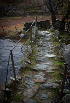 Slater's bridge, Little Langdale, Lake District, England by Al Ge