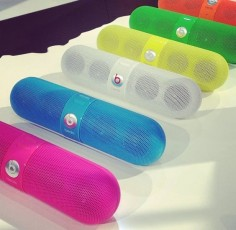 Small enough to pocket, loud enough for a party: The Bluetooth, wireless Beats by Dre Pill just got brighter.