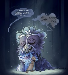 Snowdrake and Mother ||| Undertale Fan Art by lavalamp-of-epicness on Tumblr