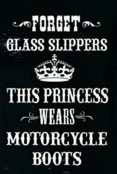 So True Love the Boots! SHOP Women's Biker Apparel: