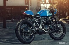 Sofi's Honda CB550 Cafe Racer ~ Return of the Cafe Racers
