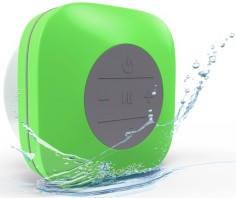 SpeakStick Waterproof Bluetooth Shower Speaker 2016 Design - Lifetime Guarantee (Green) - SpeakStick - 1