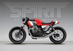 Spirit;Blog - Moto Guzzi V7 Stone - We've been really