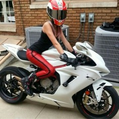 Sport bike  Love the bike, not the girl