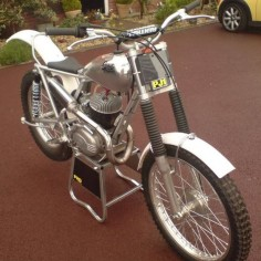 Sprite Trials bike - made by Frank Hipkin in Halesowen, West Midlands, UK - my home territory - just down the road from my alma mater, Halesowen Grammar School