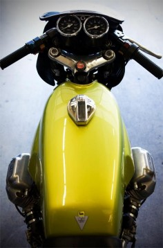Staghead Moto custom Moto Guzzi