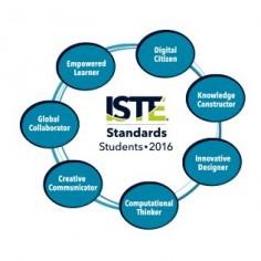 Standards header circle
