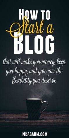 Starting a blog was the best thing I ever did and it's not as hard as you think! If you're ready to make the leap, click through and I'll walk you through the 10 steps on how to start a blog.