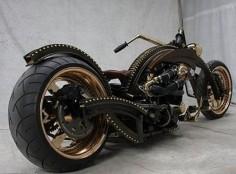 Steampunk Harley Davidson
