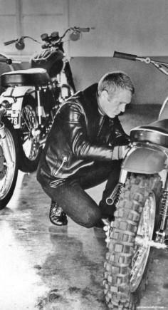 Steve McQueen & Triumph's