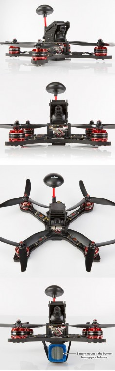 Storm Racing Drone (RTF / SRD195 / CleanFlight)