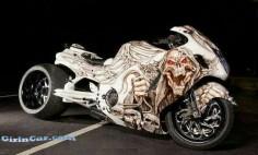 Street Bike with Custom Graphics