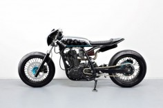 Street Smarts: an urban Suzuki DR650 by Diamond Atelier