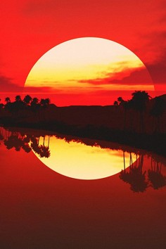 ✯ Sunset Reflection