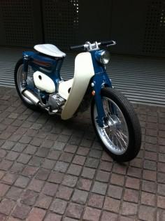 Super cool! honda c90 custom
