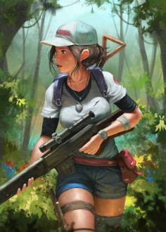survivor, SYAR . on ArtStation at