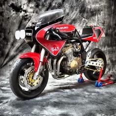 Suzuki Bandit 600 Cafe Racer Suzuka by XTR PEPO #motorcycles #caferacer #motos |