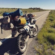 Suzuki DRZ400 adventure