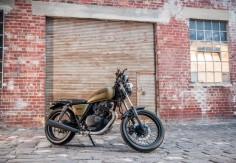 Suzuki GN250 Rebuild - Cafe Racer - Brynn Chadwick Portfolio - The ...