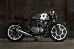 #Suzuki GS750 by Domoto Garage #