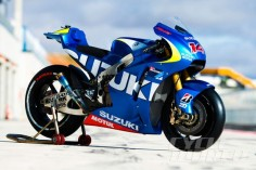 Suzuki MotoGP race bike