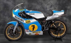 SUZUKI RG 500 XR 14 BARRY SHEENE