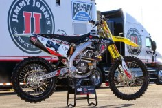 Suzuki RM-Z 450 Team RCH Soaring Eagle - Supercross USA 2015