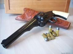 S&W Schofield Mod 3, 45 caliber revolver