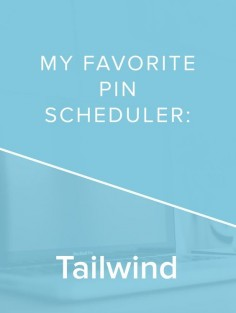Tailwind has seriously helped me step up my Pinterest game, and be consistent! If you need a pin scheduler, try Tailwind! *affiliate*