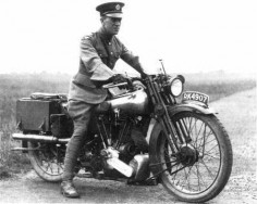 Lawrence' on his Brough Superior. He called it 'Boanerges' or son of thunder, a name that Jesus called two of his more feistier disciples.